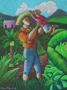Mi Futuro Y Mi Tierra, 2003 by Oscar Ortiz