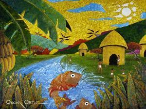Village by Oscar Ortiz