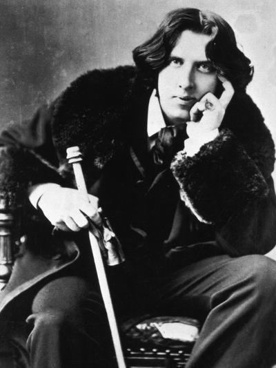 Oscar Wilde, 1882--Photographic Print