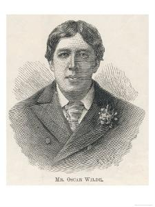 Oscar Wilde, Irish Playwright Author and Celebrity