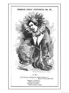 Oscar Wilde, Irish Playwright Cartoon Portrayal