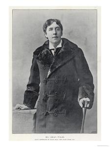 Oscar Wilde, Irish Writer and Playwright