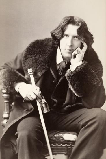 Oscar Wilde-Napoleon Sarony-Photographic Print
