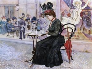 Au Cafe by Oscar Wilson