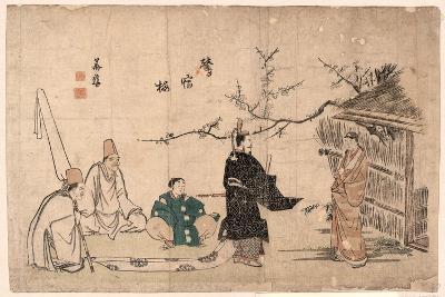 Oshukubai-Kitao Shigemasa-Giclee Print