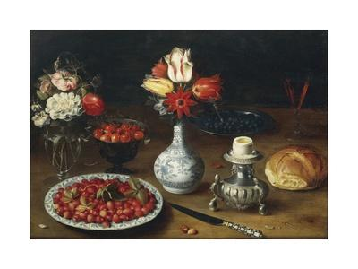 Still Life with Flowers, Fruits, Vases and Other Objects