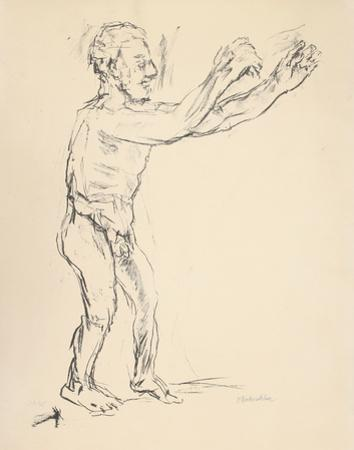 Reaching Man by Oskar Kokoschka