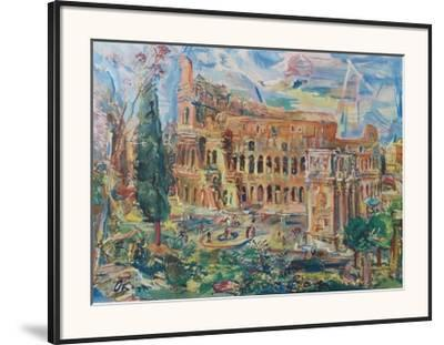The Colosseum, Rome by Oskar Kokoschka