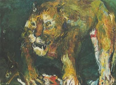 The Tigon by Oskar Kokoschka