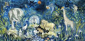 Wildlife Paradise; Tierparadies, 1939 by Oskar Schlemmer