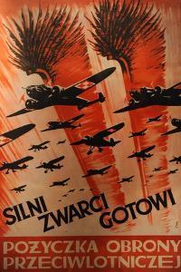 Oskar Schlinder Museum, Polish Propaganda Poster, 1939, Krakow