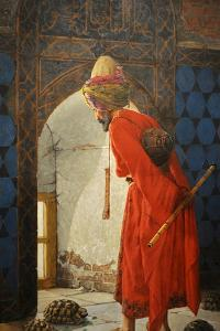 The Tortoise Trainer, 1906 by Osman Hamdi Bey