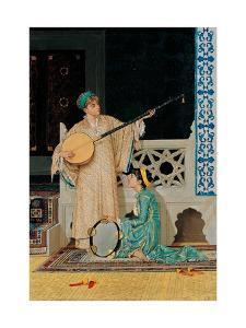 Two Musician Girls by Osman Hamdi Bey