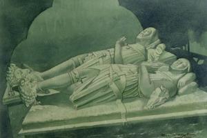 Effigies, Winchelsea Church by Osmund Caine