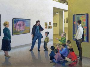 The Art Lesson, Calais by Osmund Caine