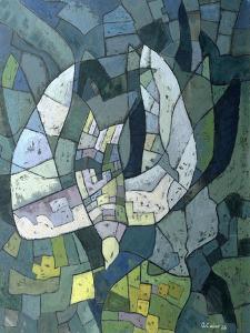 The Descending Dove: Libra, 1966 by Osmund Caine