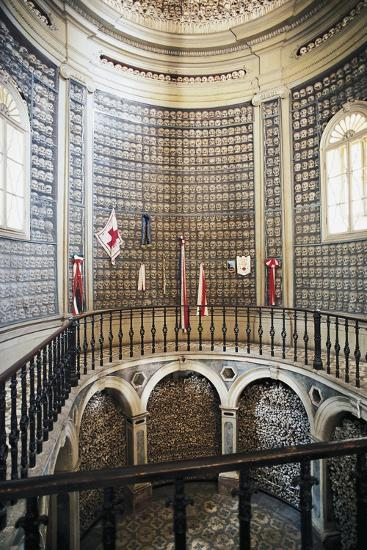 Ossuary (1880) in the Church of St Peter in Vincoli, Solferino, Lombardy, Italy--Photographic Print
