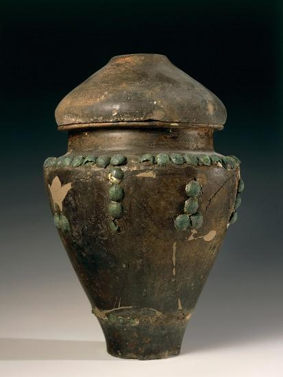 Ossuary in Shape of Situla Decorated with Studs, from Este, Italy--Giclee Print