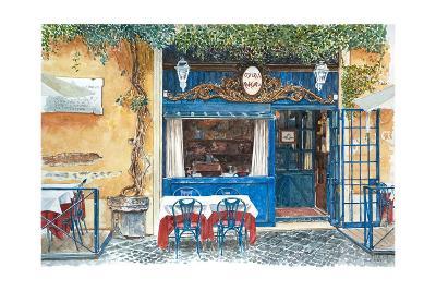 Osteria Margutta, Rome, Italy, 2013-Anthony Butera-Giclee Print