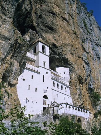 Ostrog Monastery, Tramontana, Montenegro, Europe-Stuart Black-Photographic Print