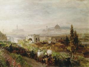 View of Florence, 1898 by Oswald Achenbach