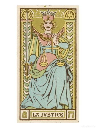 Tarot: 8 La Justice
