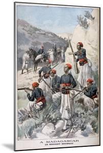 Senegalese Troops, Madagascar, 1897 by Oswaldo Tofani