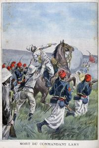 The Death of Commandant Lamy, Battle of Kousséri, 22nd April 1900 by Oswaldo Tofani