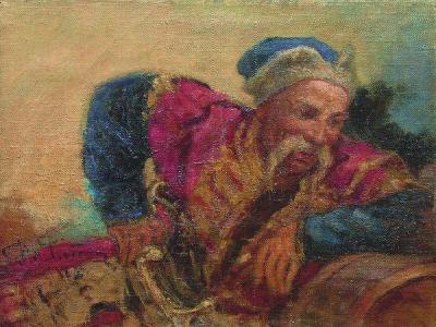 Otaman Ivan Sirko, 1889-Ilya Yefimovich Repin-Giclee Print