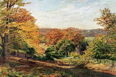Otford Church-Samuel Palmer-Giclee Print