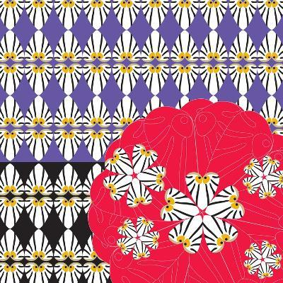 Otis Faces & Flowers-Belen Mena-Giclee Print