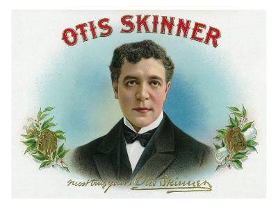 Otis Skinner Brand Cigar Box Label-Lantern Press-Art Print
