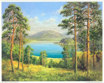 Otmuchow Lake-H^ Buchner-Art Print