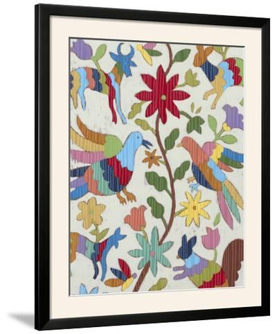 Otomi Embroidery I-Chariklia Zarris-Framed Photographic Print