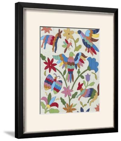 Otomi Embroidery II-Chariklia Zarris-Framed Photographic Print