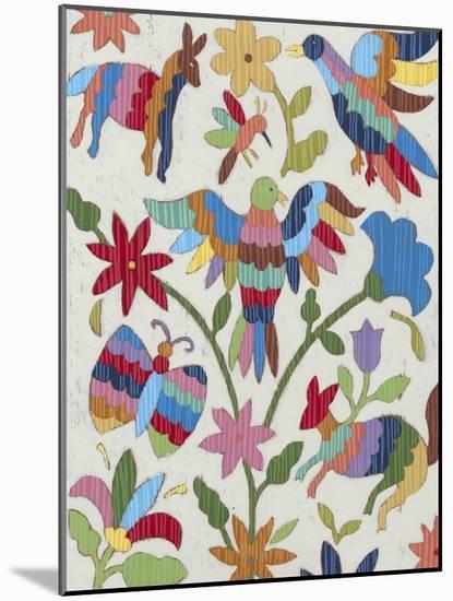 Otomi Embroidery II-Chariklia Zarris-Mounted Art Print