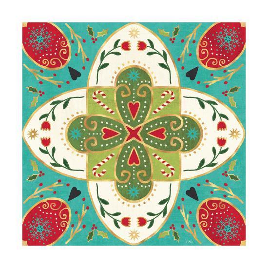 Otomi Holiday XII-Veronique Charron-Art Print