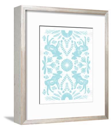Otomi Moose Pastel-Cleonique Hilsaca-Framed Art Print