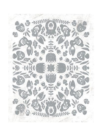 Otomi Rabbits-Cleonique Hilsaca-Art Print