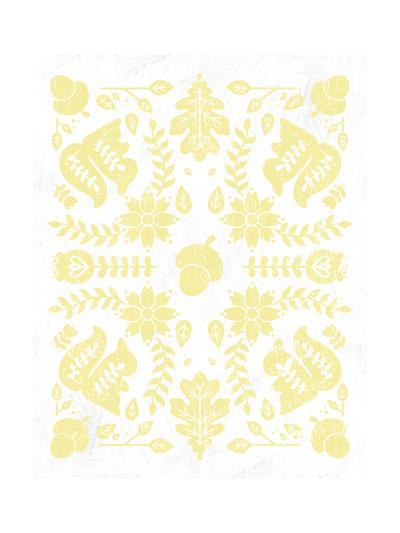 Otomi Squirrels Pastel-Cleonique Hilsaca-Art Print