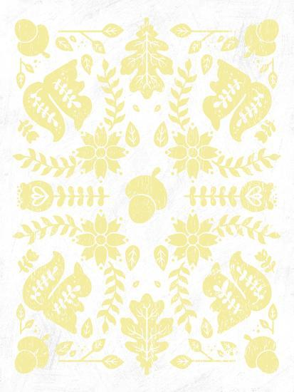 Otomi Squirrels Pastel-Cleonique Hilsaca-Premium Giclee Print
