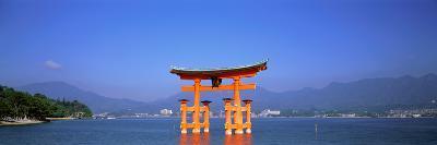 Otorii (Grand Gate) of Itsukushima Shrine Miyajima Hiroshima Japan--Photographic Print