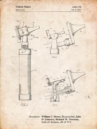 Otoscope Patent Print-Cole Borders-Art Print