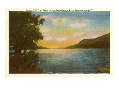 Otsego Lake, Susquehanna River, New York--Art Print