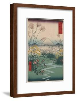 Otsuki Fields in Kai Province-Ando Hiroshige-Framed Giclee Print