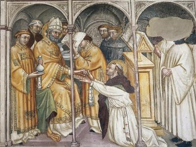 Augustine Being Ordained as Priest by Bishop Valerius, Scene from Life of Saint Augustine