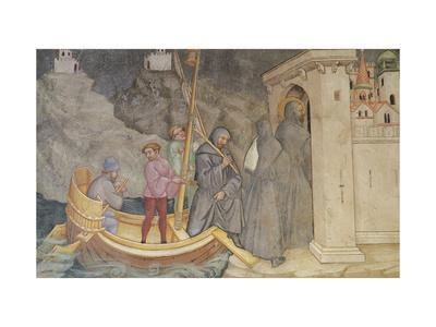 Augustine Returning to Carthage, Scene from Life of Saint Augustine, 1420-1425