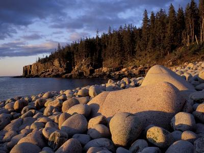 Otter Cliffs Fom Monument Cove, Maine, USA-Jerry & Marcy Monkman-Photographic Print