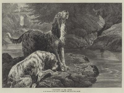 Otter-Hounds-Basil Bradley-Giclee Print