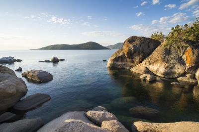 Otter Point at Sunset, Lake Malawi National Park, Cape Maclear, Malawi, Africa-Michael Runkel-Photographic Print